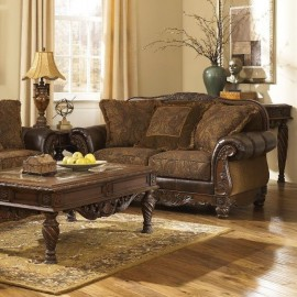 6310035 Диван двухместный Fresco DuraBlend Antique, Ashley Furniture