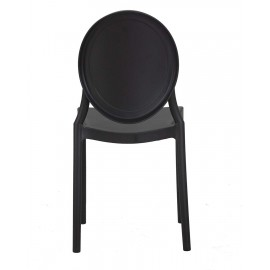 Стул пластиковый LMZL-PP712 черный