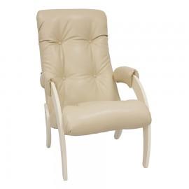 Кресло для отдыха Модель 61, Дуб шампань/ экокожа Polaris Beige
