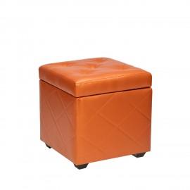 Пуф Leset Ромби 2, оранжевый