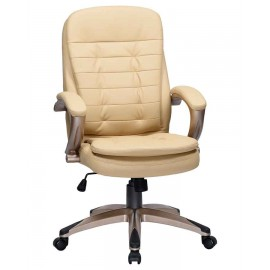 Офисное кресло для руководителей DOBRIN DONALD LMR-106B, бежевый