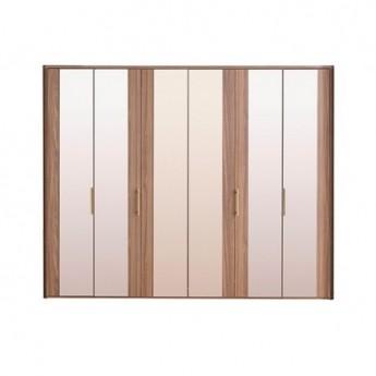 Шкаф 6-дверный RAUM Enza Home орех