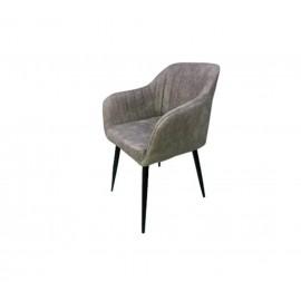 Кресло OKAY8709, Нубук серый