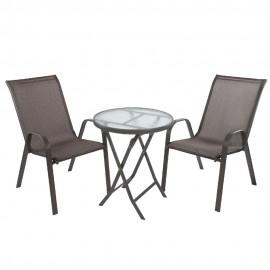 Комплект садовый (стол TIFFANY и 2 кресла KINGSTON)